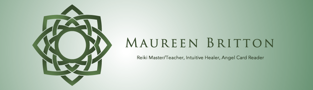 Maureen Britton ~ Reiki Master/Teacher, Intuitive Healer, Angel Card Reader – Regina, Saskatchewan